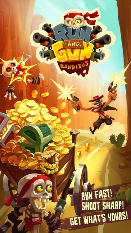 Run & Gun: BANDITOS screenshot-0