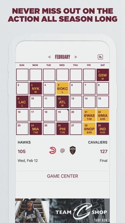 Cleveland Cavaliers screenshot-4