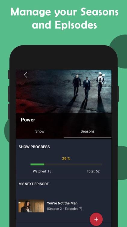 Cinetrak - Movie and TV guide screenshot-4