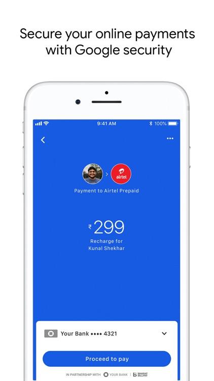 Google Pay for India (Tez) screenshot-4