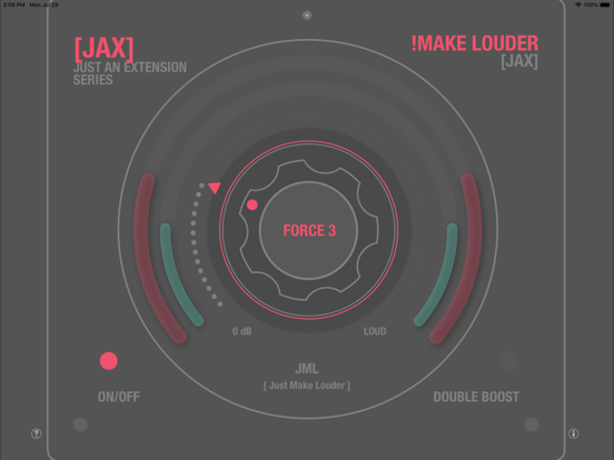 JAX !Make Louder (Audio Unit) screenshot 8