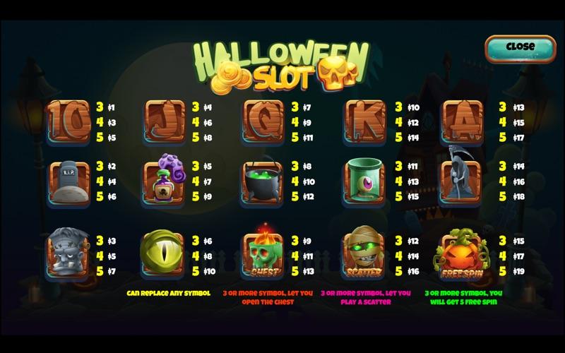 Halloween Slot for Mac