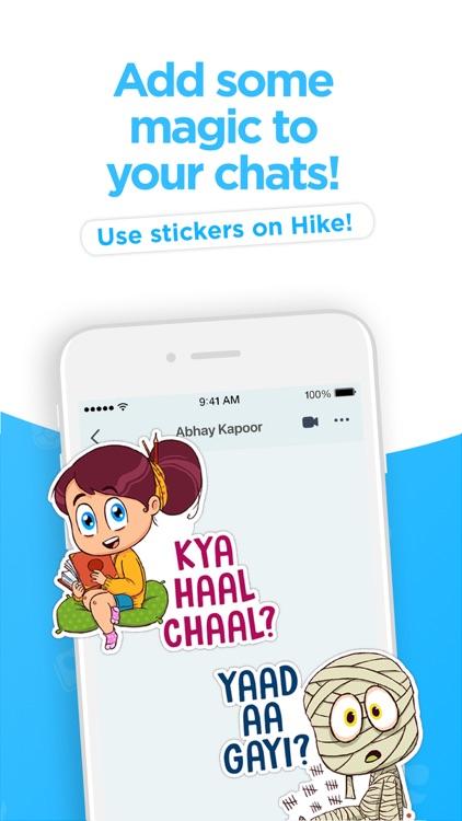 Hike Sticker Chat screenshot-0