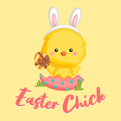 Cute Easter Chick & Egg icon
