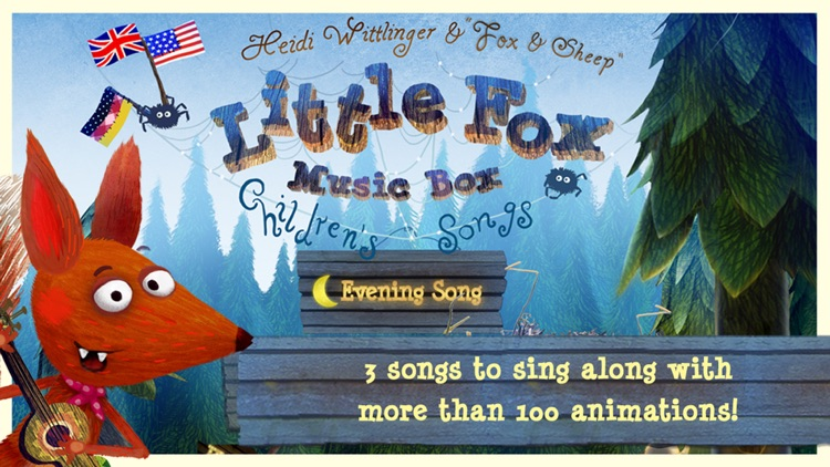 Little Fox Nursery Rhymes screenshot-0