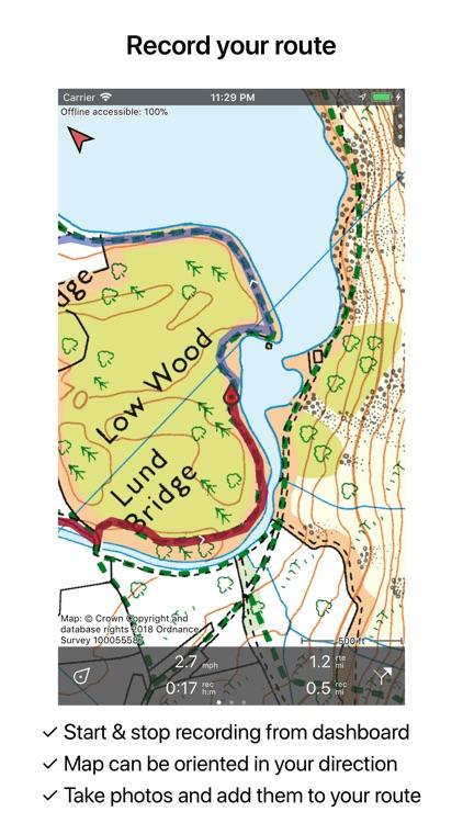 Topo GPS Great Britain screenshot-4