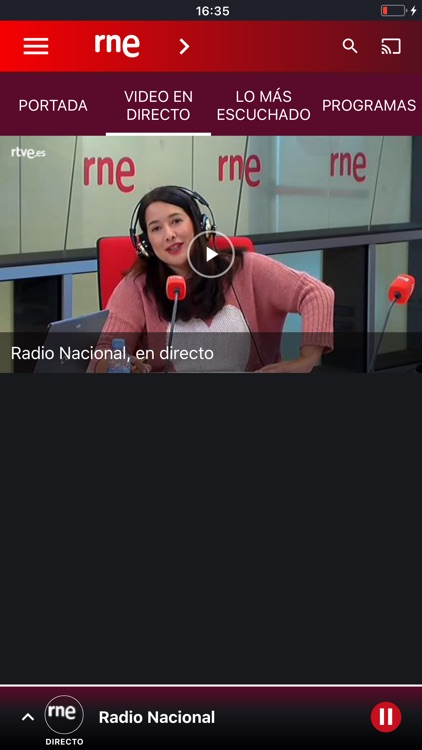 Radio Nacional de España screenshot-7