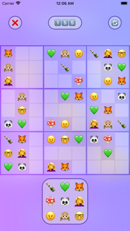 Jan's Emoji Sudoku screenshot-0