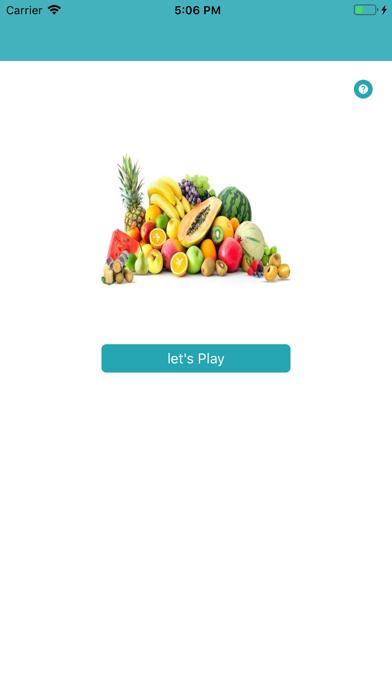 Fruit Learner screenshot #1