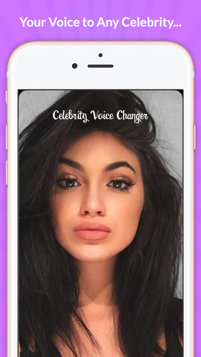 Celebrity Voice Changer - Face Screenshot