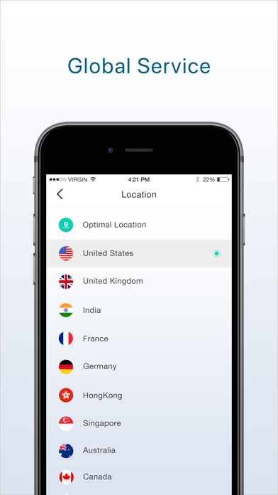 Best VPN: Unlimited Proxy Screenshot on iOS