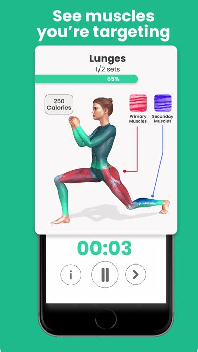 Fitonomy Women Workout Planner Screenshot