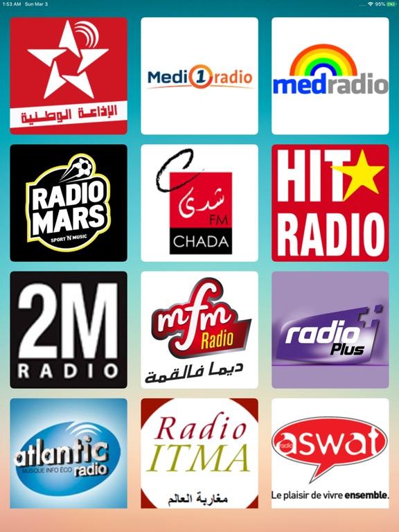 Radios Maroc|الإذاعات المغربية-ipad-0