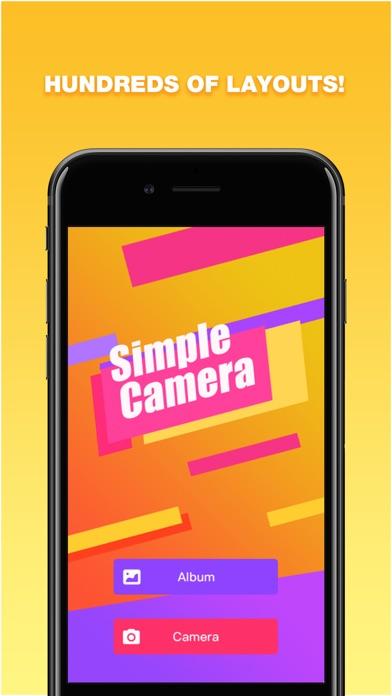 Simple Camera - s screenshot #1