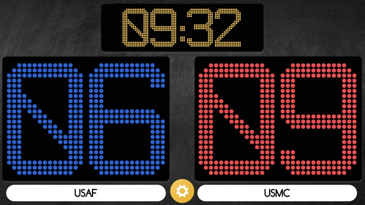 Scoreboard - Swipe Up