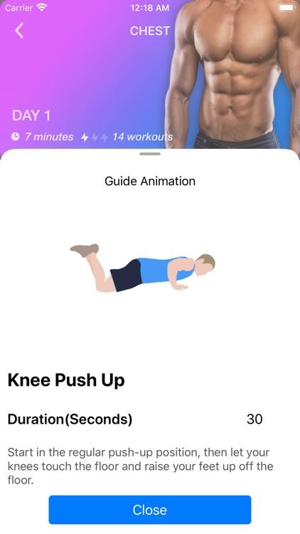 Home Workout App for Men screenshot-4