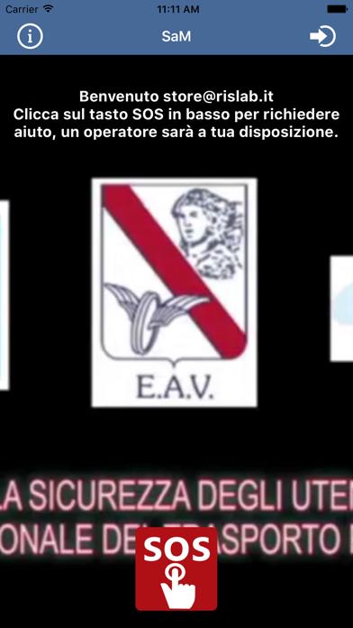 Screenshot of SAM - Sicurezza EAV3