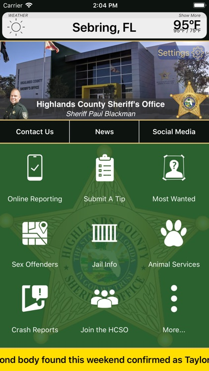 Highlands County Sheriff FL by Highlands County Sheriff's Office