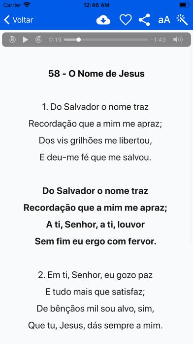 Cantor Cristão Batista screenshot four