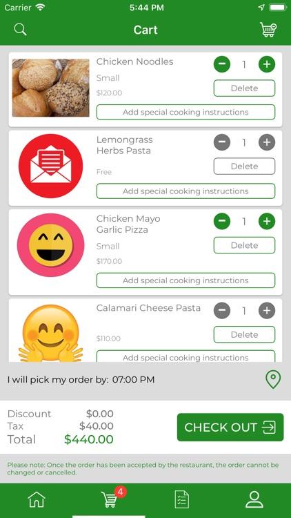Q-Less Kafe screenshot-4