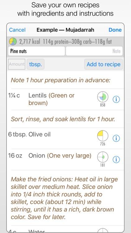 Diet Counts — calorie counter screenshot-4