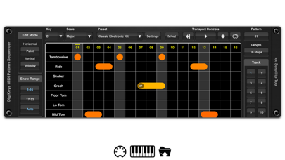 DigiKeys AUv3 Sequencer Plugin screenshot 3