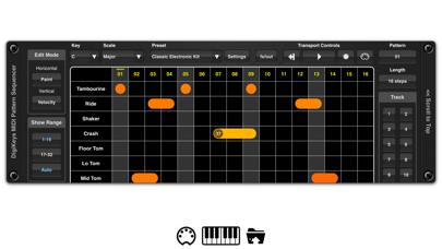 DigiKeys AUv3 Sequencer Plugin screenshot 3
