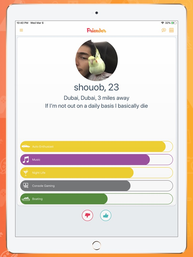 Friender- Make New Friends on the App Store
