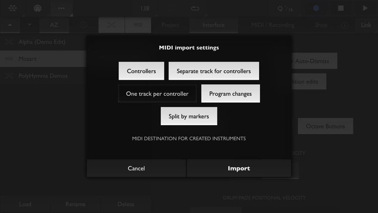 Xequence | MIDI Workstation screenshot-9