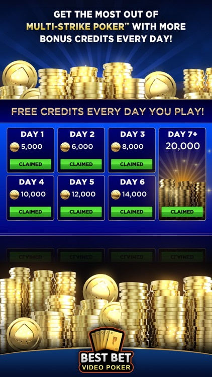 Best Bet Video Poker|50+ Games screenshot-9