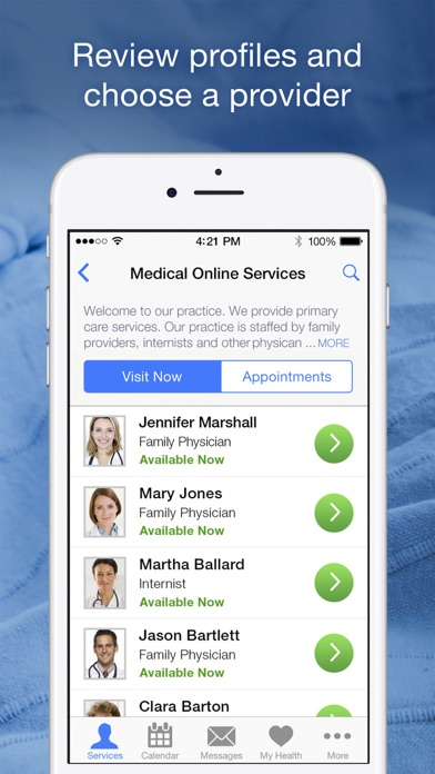 messages.download Horizon CareOnline software