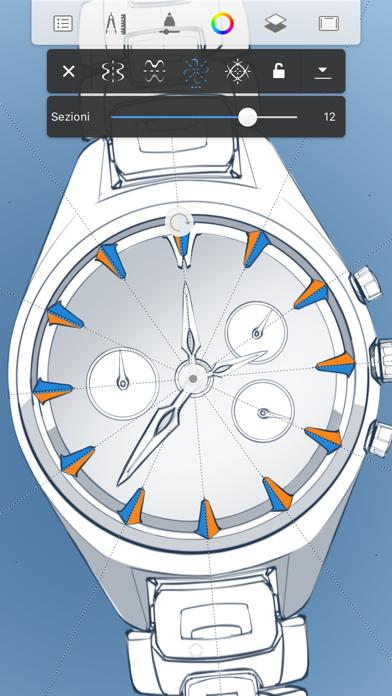 Screenshot of Autodesk SketchBook3