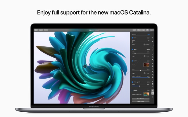 Pixelmator Pro gets major update with macOS Catalina support Image