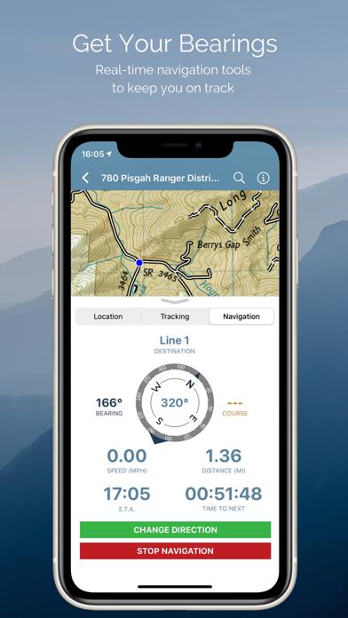 Avenza Maps Screenshot
