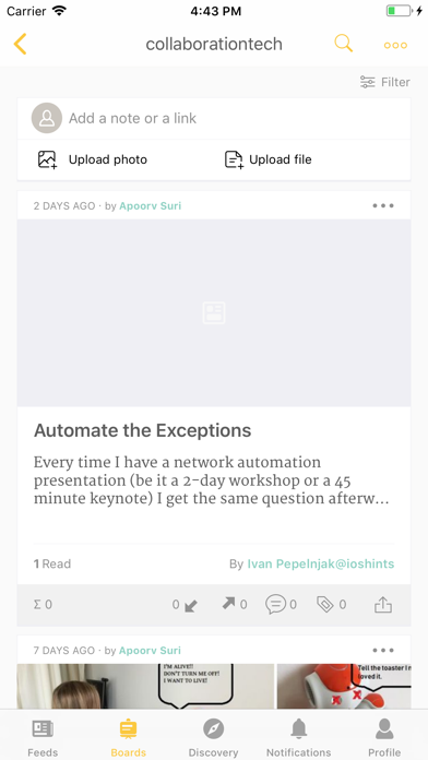 Cronycle - Curation platform screenshot three