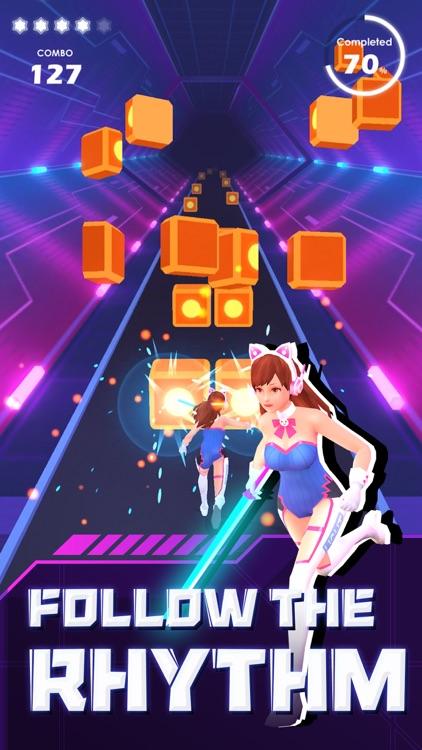 Beat Sword - Rhythm Game screenshot-3