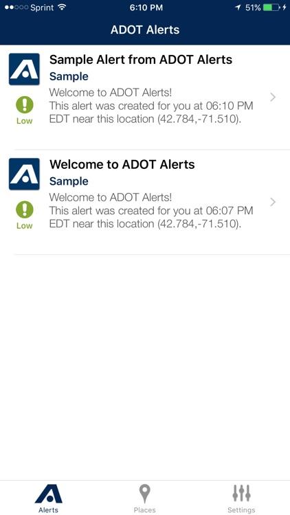 ADOT Alerts