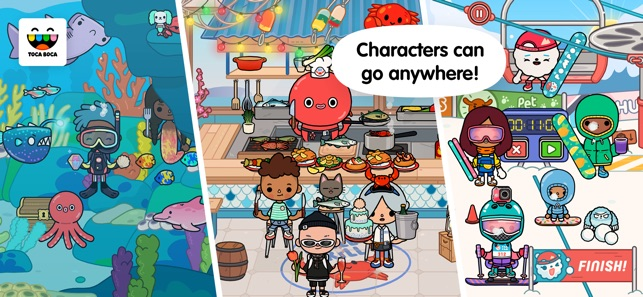 download toca life vacation free
