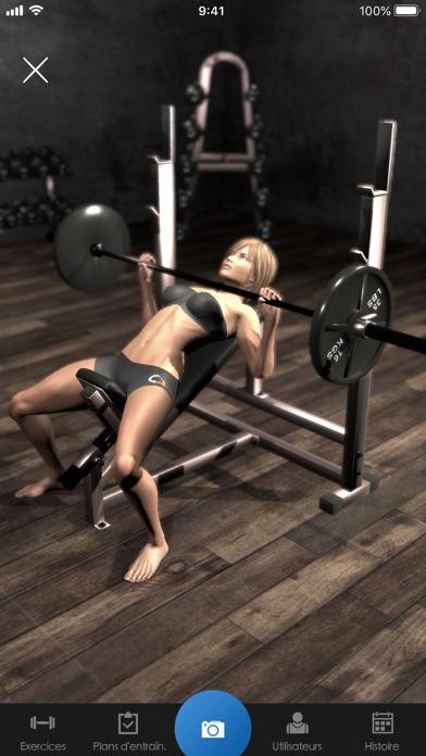 Screenshot #2 pour Gymnotize Pro Musculation