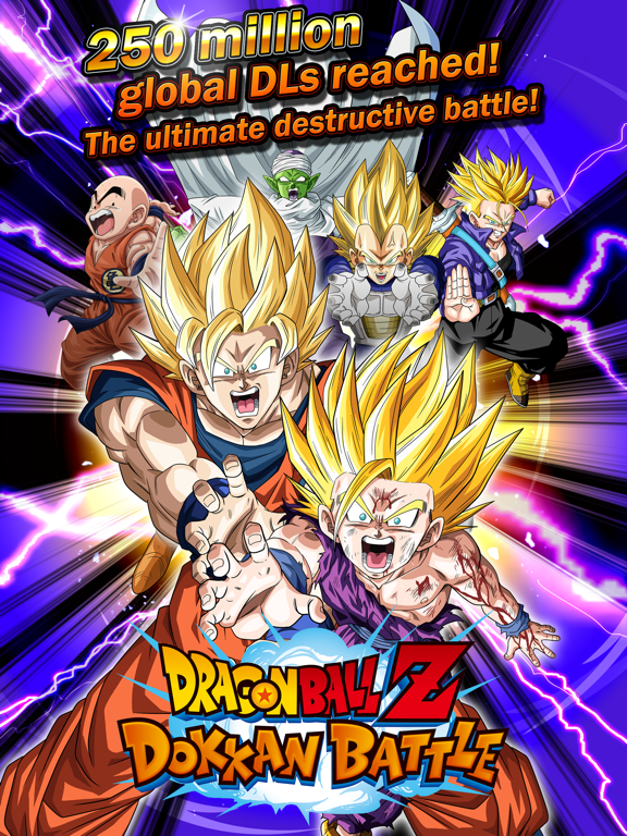 DRAGON BALL Z DOKKAN BATTLE by BANDAI NAMCO Entertainment Inc  (iOS