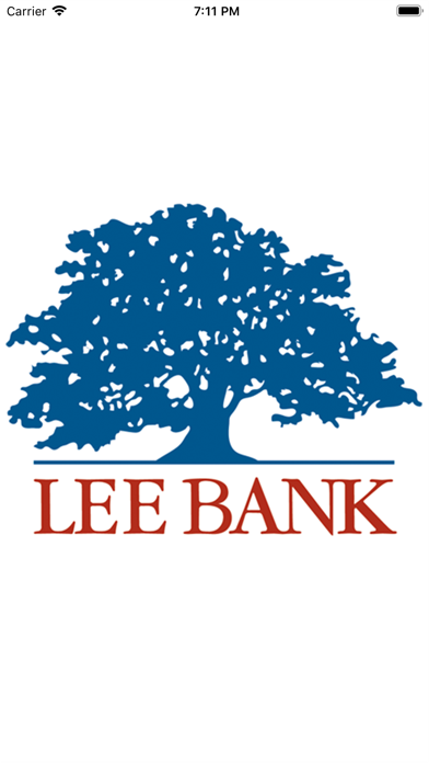 Lee Bank Mobile BankingScreenshot of 1