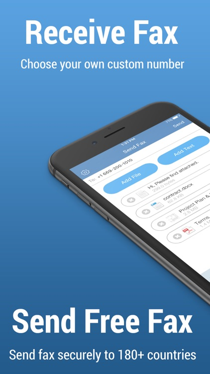 FAX.PLUS - Receive & Send Fax screenshot-0