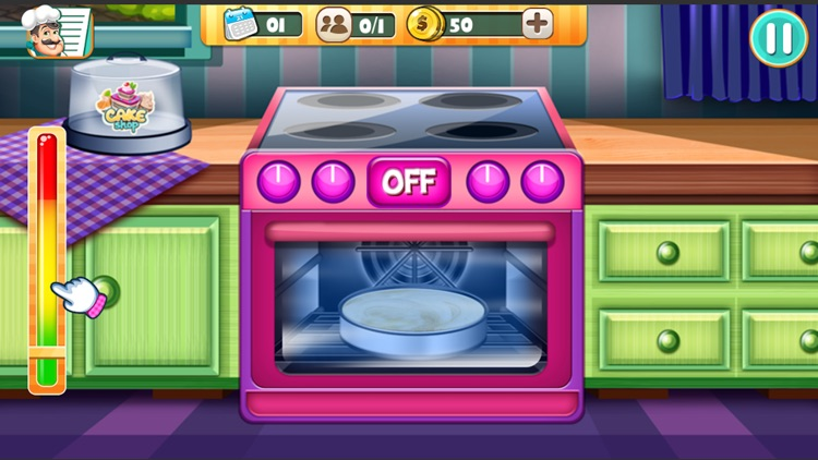 Papa Cooking Cake Dash : Sims screenshot-4