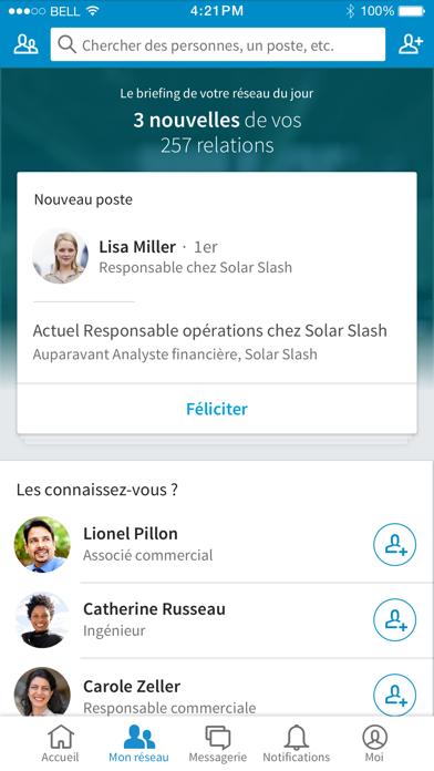 Télécharger LinkedIn pour Android