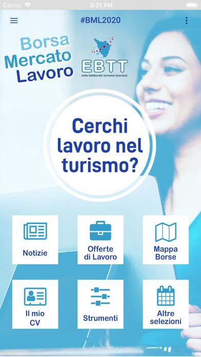 Screenshot of Borsa Mercato Lavoro EBTT1