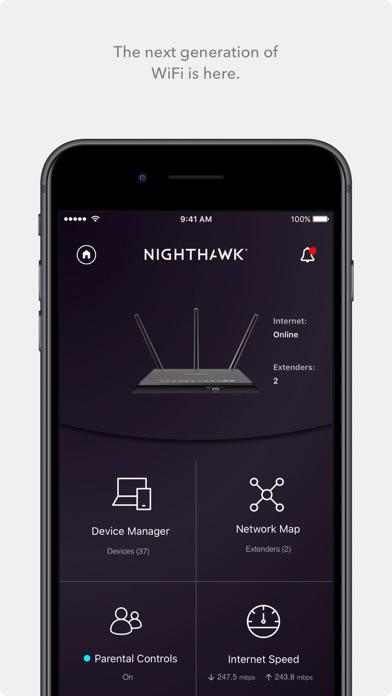 NETGEAR Nighthawk - WiFi Appのおすすめ画像1