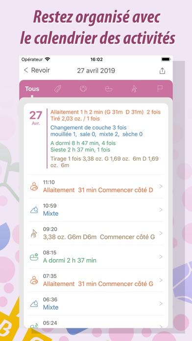 Screenshot #2 pour Baby Tracker Pro - Bébé Suivi