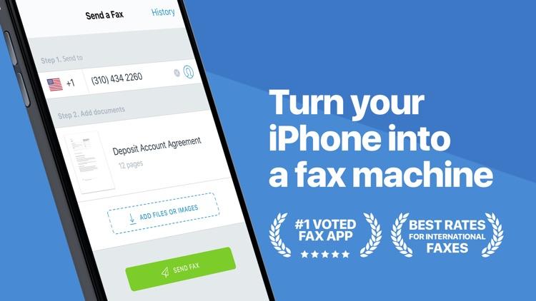 Fax Pro - Send fax from iPhone screenshot-0