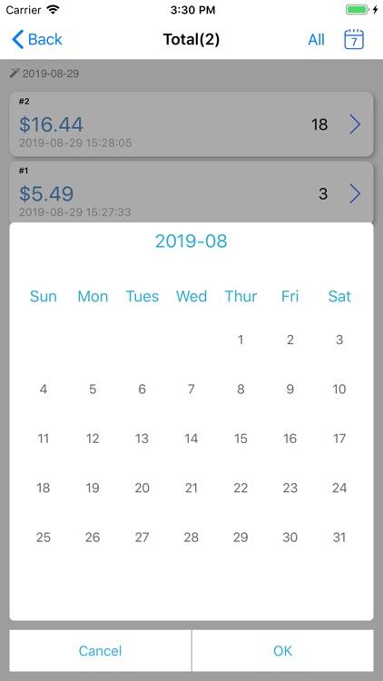TinyPOS Make & Track Receipts screenshot-8