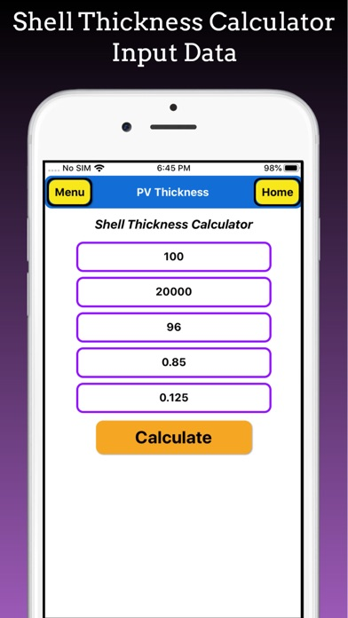 Pressure Vessel Thickness Pro screenshot 7